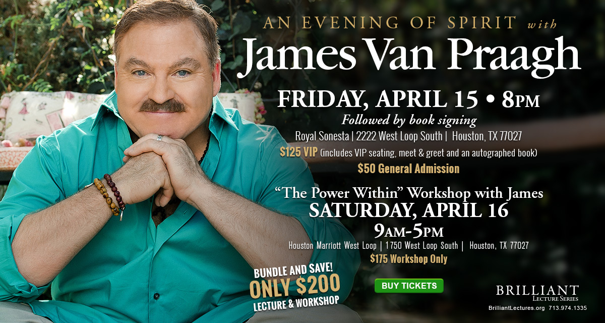 James Van Praagh in Houston